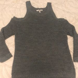 COLD SHOULDER SWEATER - Say What ? Size L